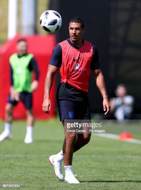 Jake Livermore during the training session at St George's Park Burton