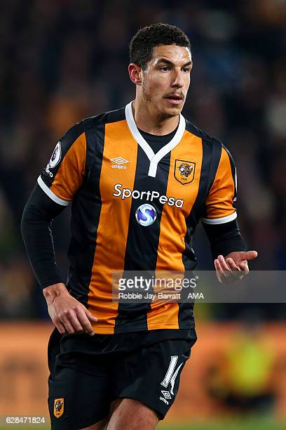 Jake Livermore of Hull City during the EFL Cup QuarterFinal match between Hull City and Newcastle United at KCOM Stadium on November 29 2016 in Hull...