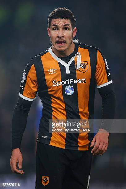 Jake Livermore of Hull City during the Premier League match between Hull City and Everton at KC Stadium on December 30 2016 in Hull England