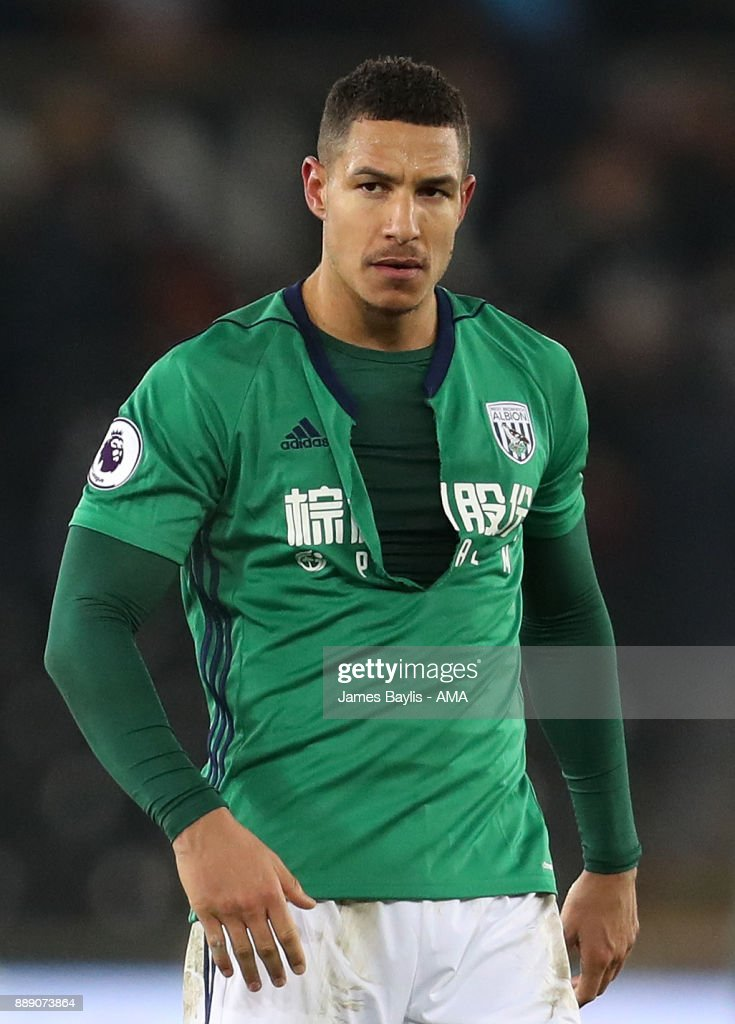 Jake Livermore of West Bromwich Albion during the Premier League match between Swansea City and West Bromwich Albion at Liberty Stadium on December 9, 2017 in Swansea, Wales.