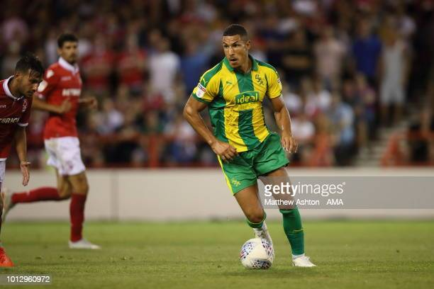 Jake Livermore of West Bromwich Albion during the Sky Bet Championship match between Nottingham Forest v West Bromwich Albion at City Ground on...