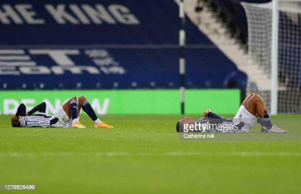 Jake Livermore of West Bromwich Albion looks dejected following the Premier League match between West Bromwich Albion and Chelsea at The Hawthorns on...
