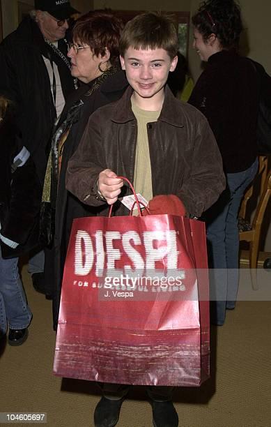 Jake Lloyd during Sundance 2001 MAC/Diesel Make Over Day in Park City Utah United States