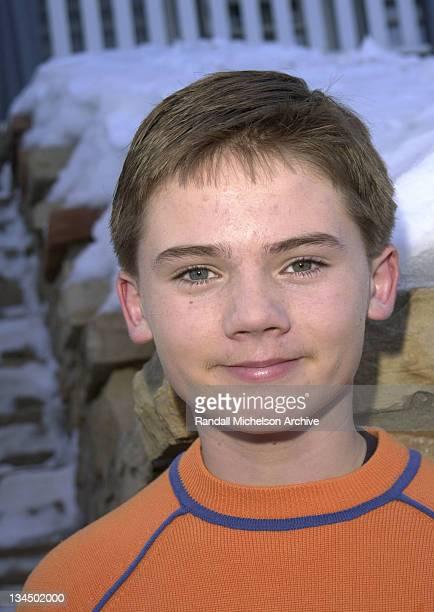 Jake Lloyd during Sundance 2001 Madison Portraits in Park City Utah United States