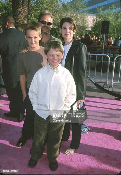 Jake Lloyd Family during 'Austin Powers The Spy Who Shagged Me' Los Angeles Premiere at Universal Amphitheatre in Universal City California United...