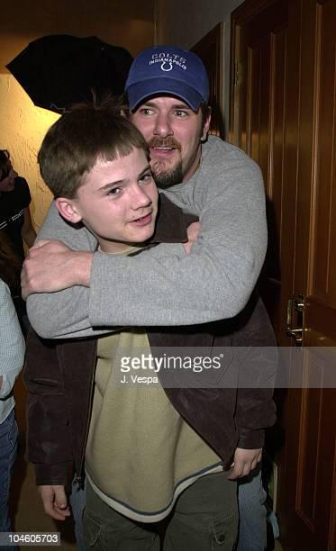 Jake Lloyd Josh Broadbent during Sundance 2001 MAC/Diesel Make Over Day in Park City Utah United States