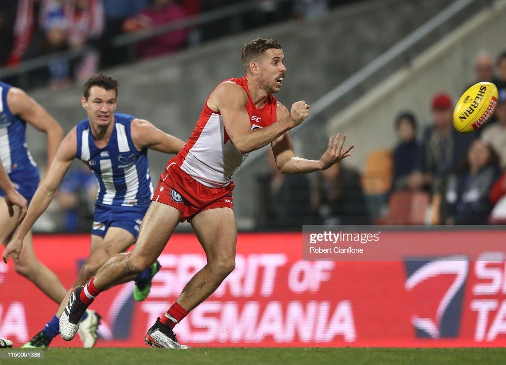 AFL Rd 9 - North Melbourne v Sydney : News Photo