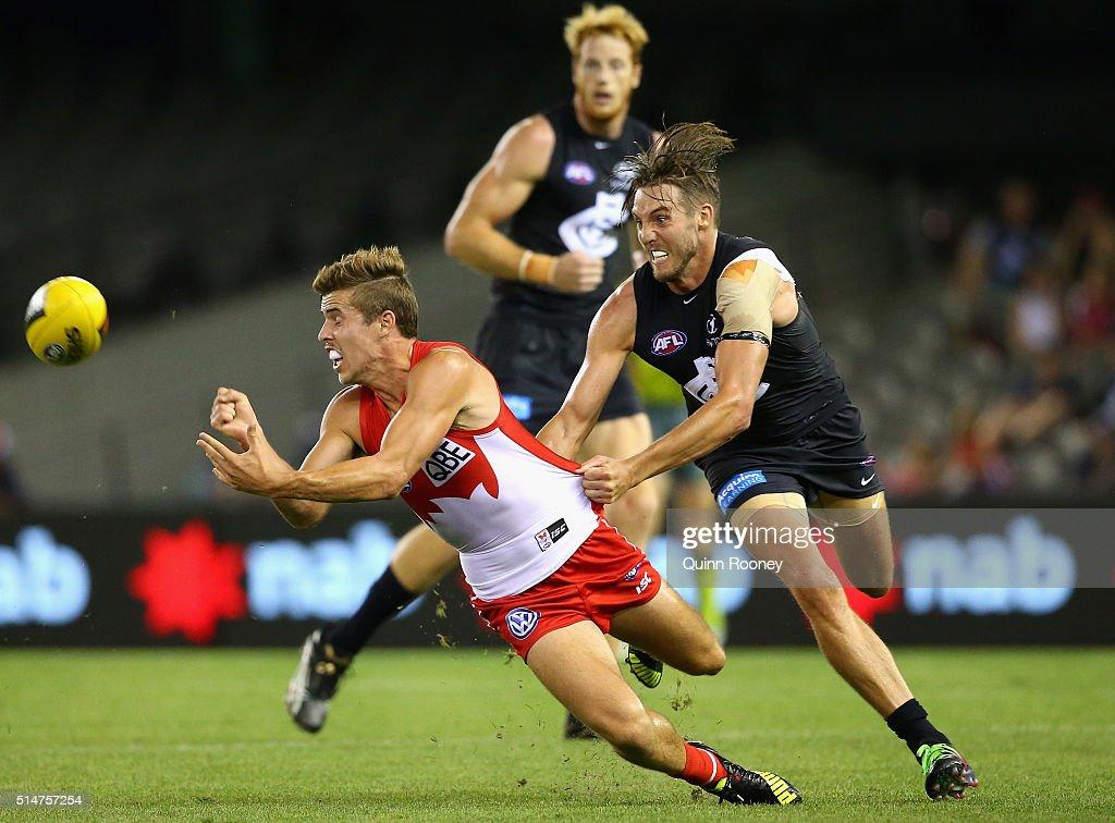 Carlton v Sydney - 2016 AFL NAB Challenge
