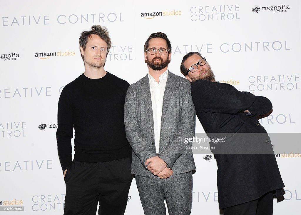 """Creative Control"" New York Premiere : News Photo"