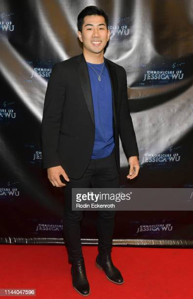 Jake Long attends the Chronicles of Jessica Wu Season 2 premiere at SAGAFTRA Foundation Screening Room on April 20 2019 in Los Angeles California