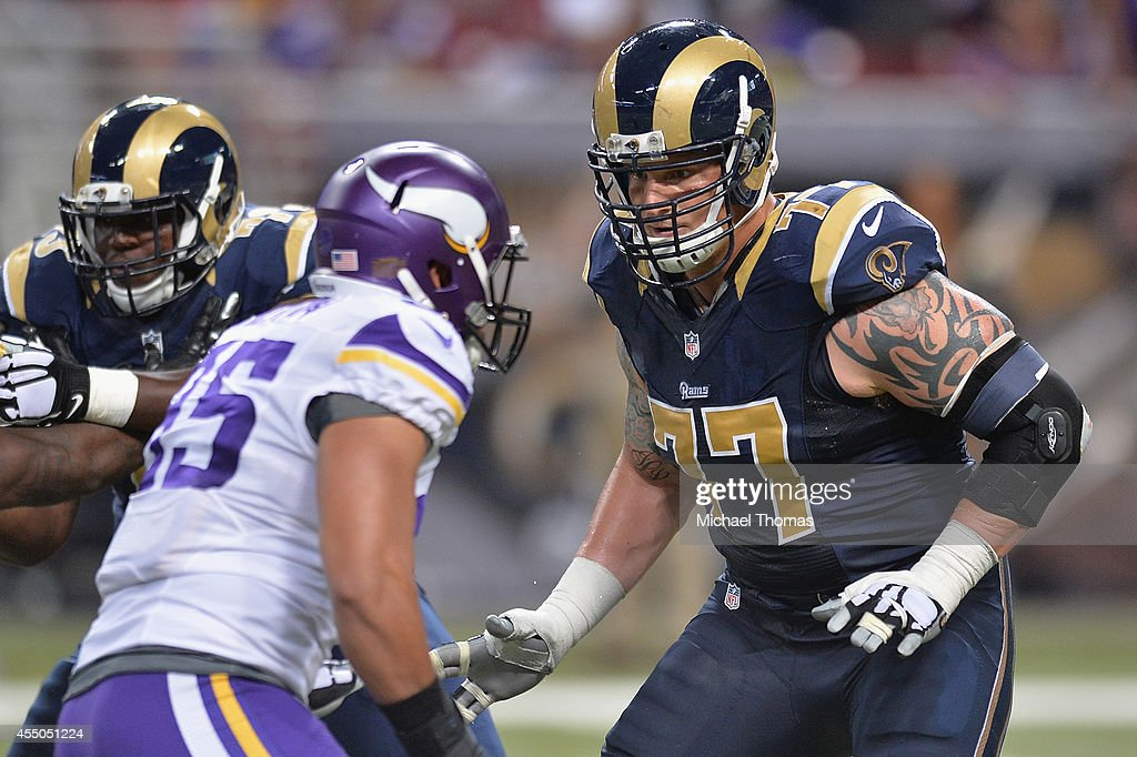 Minnesota Vikings v St. Louis Rams : News Photo