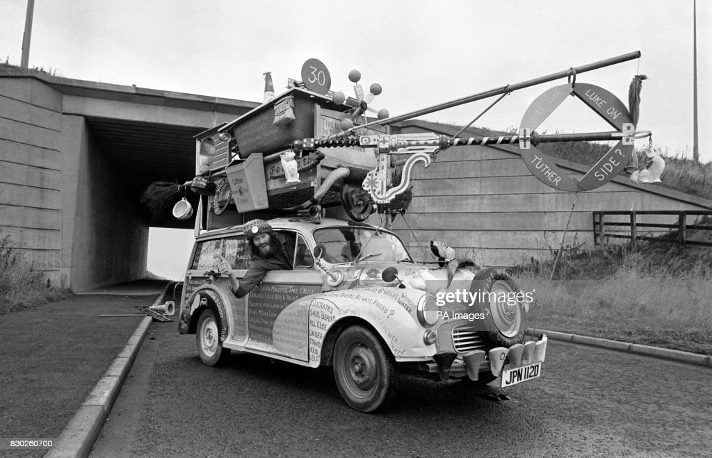 Jake Mangel Wurzel And His Incredible Wurzel Wagon. Just About Every Thing  He Owns