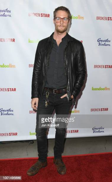 Jake McDorman attends premiere of Gravitas Ventures' 'Broken Star' at TCL Chinese 6 Theatres on July 18 2018 in Hollywood California