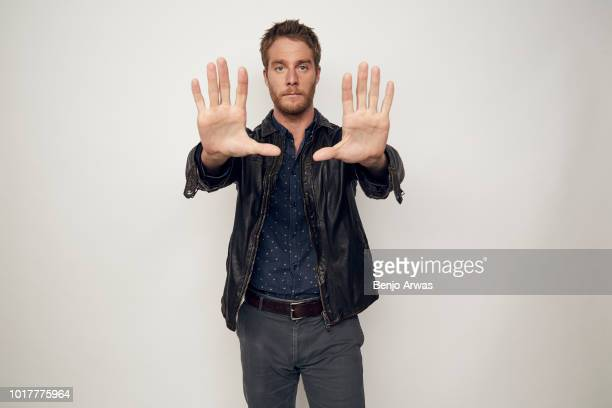 Jake McDorman of CBS's 'Murphy Brown' poses for a portrait during the 2018 Summer Television Critics Association Press Tour at The Beverly Hilton...