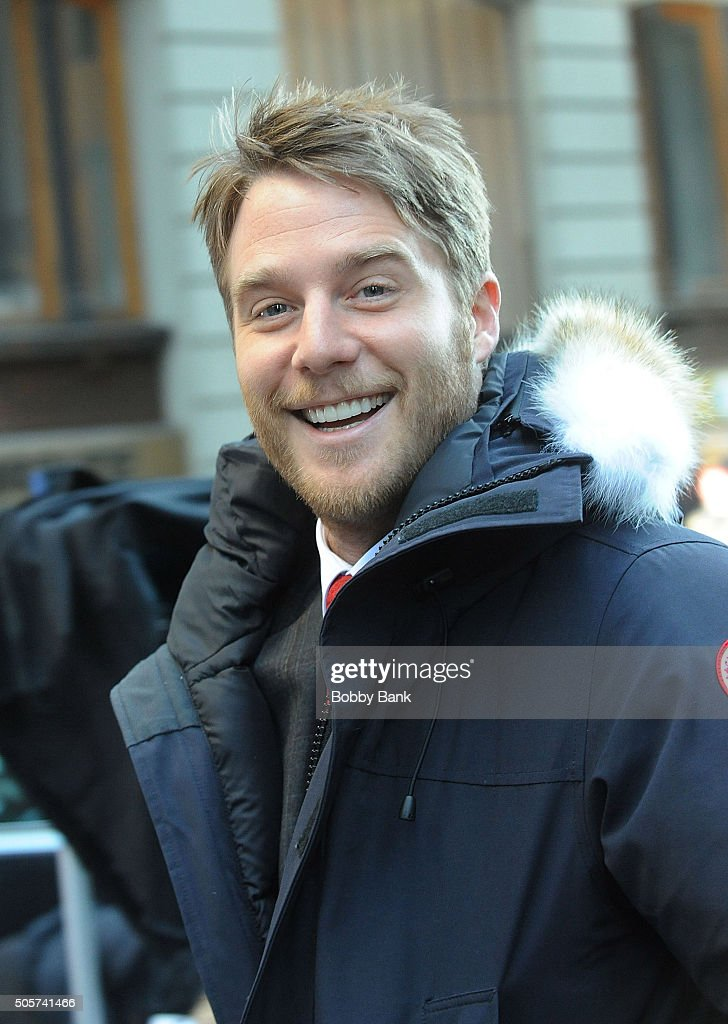 Jake McDorman on the set of 'Limitless' on January 19, 2016 in New York City.