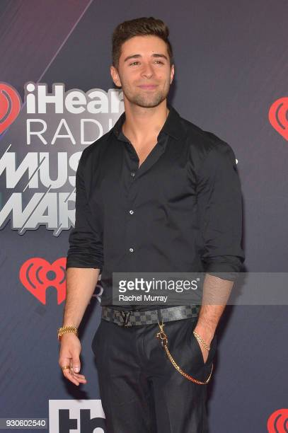 Jake Miller arrives at the 2018 iHeartRadio Music Awards which broadcasted live on TBS TNT and truTV at The Forum on March 11 2018 in Inglewood...