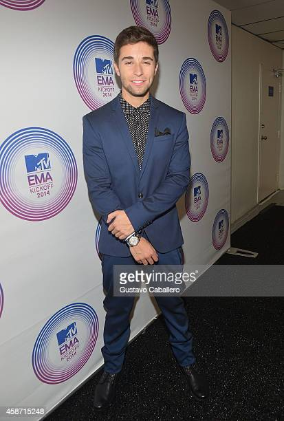 Jake Miller attends the 2014 MTV EMA Kick Off at the Klipsch Amphitheater on November 9 2014 in Miami Florida
