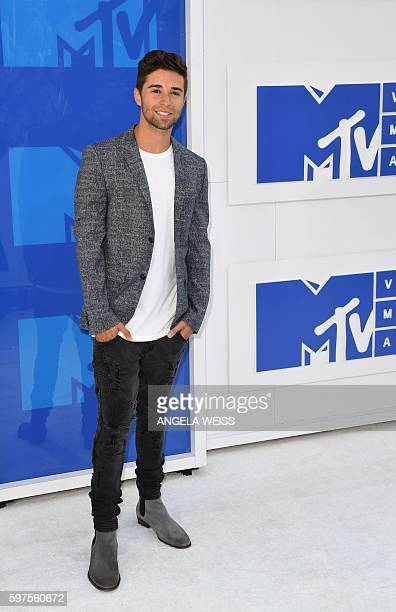 Jake Miller attends the 2016 MTV Video Music Awards on August 28 2016 at Madison Square Garden in New York / AFP / Angela Weiss