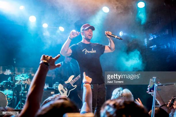 Jake Miller performs on stage at Sala Bikini on May 9 2017 in Barcelona Spain