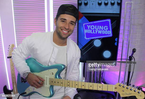 Jake Miller visits the Young Hollywood Studio on February 21 2016 in Los Angeles California