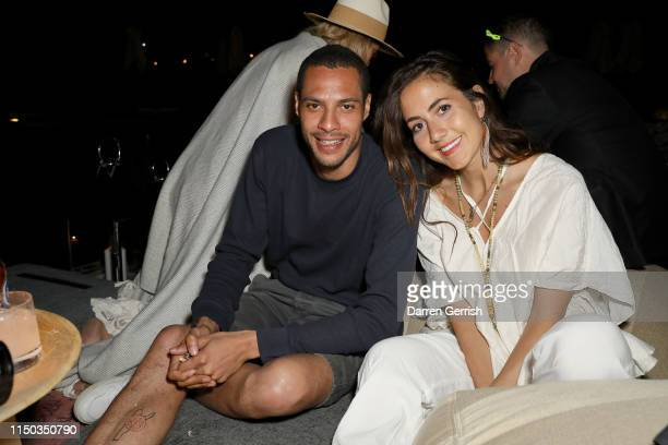 Jake Morant and Courtney Scott attend the Bodrum EDITION opening of the 2019 season on May 19 2019 in Bodrum Turkey