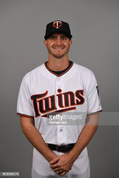 Jake Odorizzi of the Minnesota Twins poses during Photo Day on Wednesday February 21 2018 at CenturyLink Sports Complex in Fort Myers Florida
