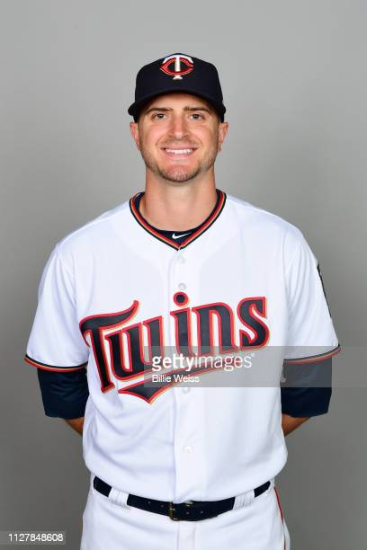 Jake Odorizzi of the Minnesota Twins poses during Photo Day on Friday February 22 2019 at CenturyLink Sports Complex in Fort Myers Florida
