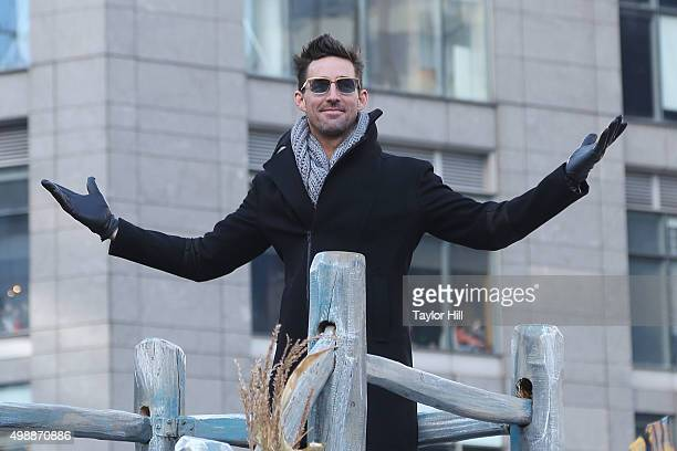 Jake Owen attends the 2015 Macy's Thanksgiving Day Parade on Central Park West on November 26 2015 in New York City