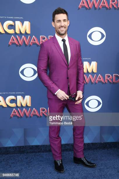 Jake Owen attends the 53rd Academy of Country Music Awards at MGM Grand Garden Arena on April 15 2018 in Las Vegas Nevada
