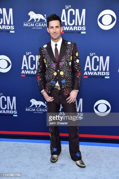Jake Owen attends the 54th Academy Of Country Music Awards at MGM Grand Hotel Casino on April 07 2019 in Las Vegas Nevada