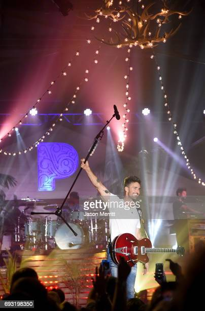 Jake Owen performs onstage during the Pandora Sounds Like Country at Marathon Music Works on June 6 2017 in Nashville Tennessee