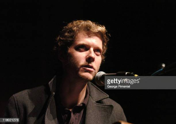 Jake Paltrow during 2007 Sundance Film Festival 'The Good Night' Premiere QA at Eccles Theatre in Park City Utah United States