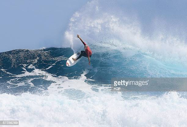 Jake Paterson of Australia competes in the final of the ASP 4 Star World Qualifying Series Mens Event the Margaret River Pro at Surfers Point on...