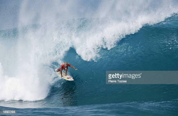 Jake Paterson of Australia in action during the Xbox Pipeline Masters at the Banzai Pipeline on the North Shore of Oahu in Hawaii USA on December 16...