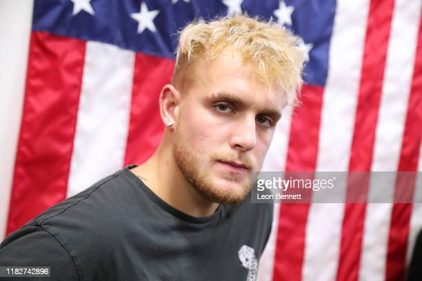 Jake Paul attends Logan Paul Workout Showcase at Wild Card Boxing Club on October 22 2019 in Hollywood California