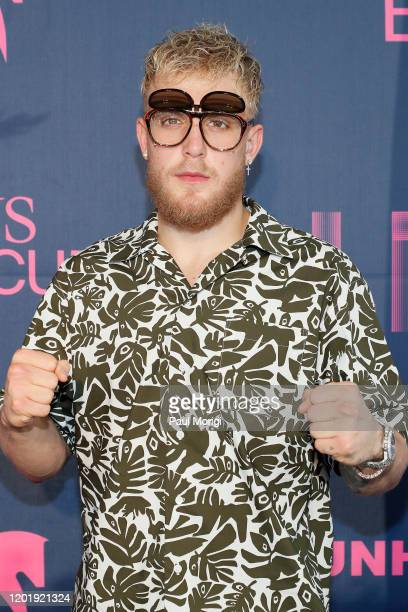 Jake Paul attends the 2020 Pegasus World Cup Championship Invitational Series at Gulfstream Park on January 25, 2020 in Hallandale, Florida.