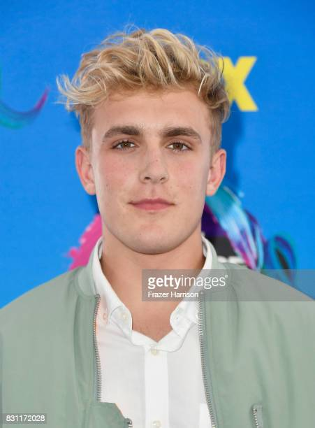 Jake Paul attends the Teen Choice Awards 2017 at Galen Center on August 13, 2017 in Los Angeles, California.