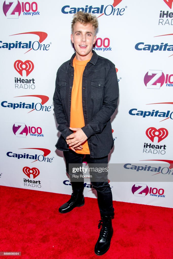 Jake Paul attends Z100's iHeartRadio Jingle Ball 2017 at Madison Square Garden on December 8, 2017 in New York City.