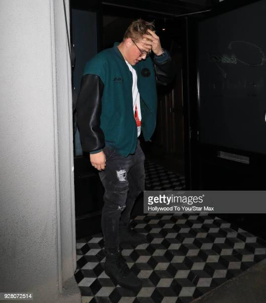 Jake Paul is seen on March 5 2018 in Los Angeles California