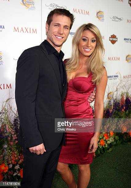Jake Pavelka and Vienna Girardi arrives at the 11th annual Maxim Hot 100 Party with HarleyDavidson ABSOLUT VODKA Ed Hardy Fragrances and ROGAINE held...