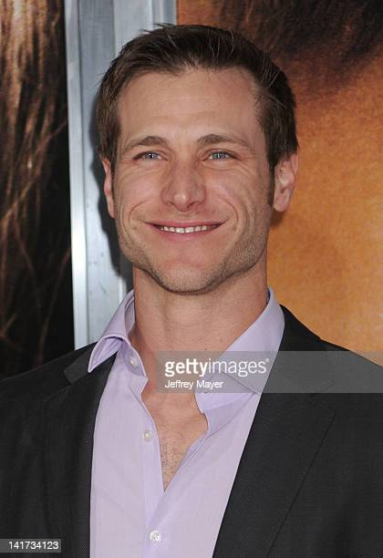 Jake Pavelka arrives at The Vow Los Angeles Premiere at Grauman's Chinese Theatre on February 6 2012 in Hollywood California
