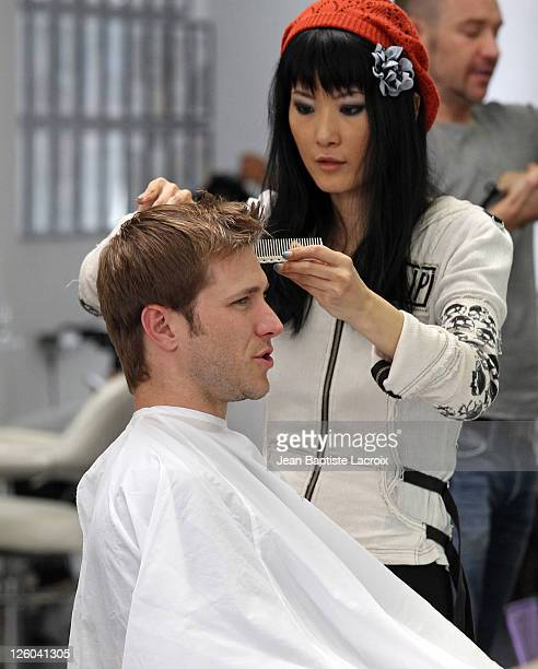 Jake Pavelka sighted at a hairsalon on April 28 2011 in Los Angeles California