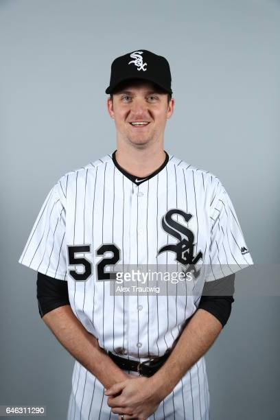 Jake Petricka of the Chicago White Sox poses during Photo Day on Thursday February 23 2017 at Camelback Ranch in Glendale Arizona
