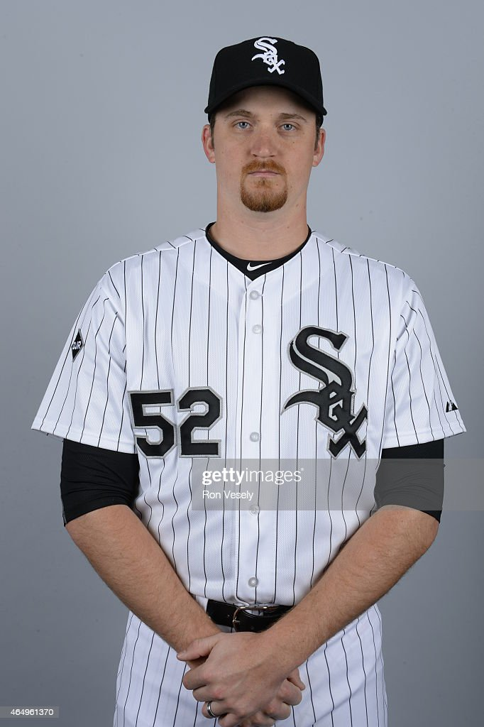 Jake Petricka #52 of the Chicago White Sox poses during Photo Day on Saturday, February 28, 2015 at Camelback Ranch in Glendale, Arizona.
