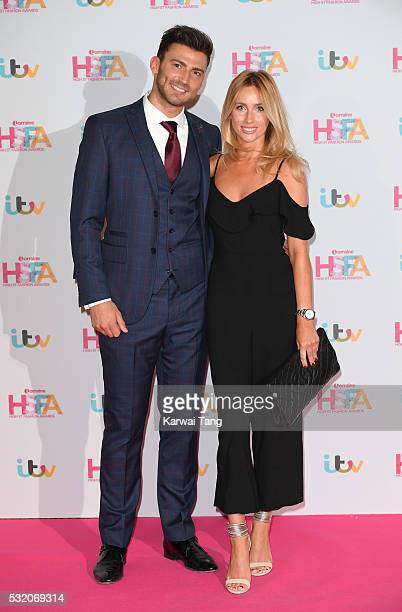 Jake Quickenden and Danielle Fogarty attend the Lorraine's High Street Fashion Awards at Grand Connaught Rooms on May 17 2016 in London England