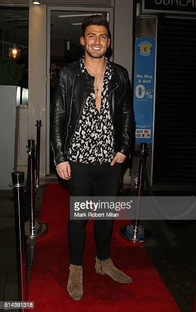 Jake Quickenden attending Jake Quickenden's EP launch at Jewel bar on March 8 2016 in London England