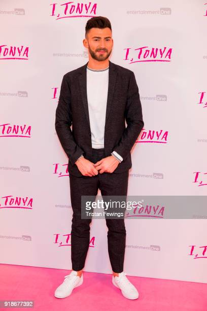 Jake Quickenden attends the 'I Tonya' UK premiere held at The Curzon Mayfair on February 15 2018 in London England