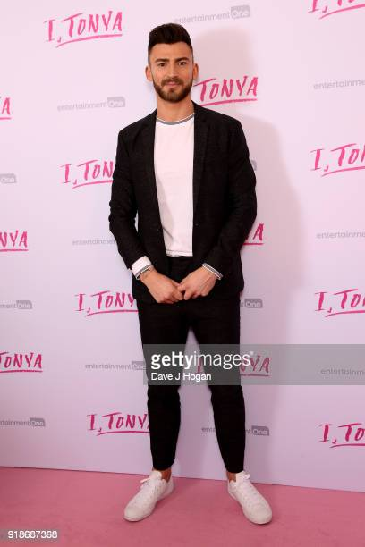 Jake Quickenden attends the 'I Tonya' UK premiere held at The Washington Mayfair Hotel on February 15 2018 in London England