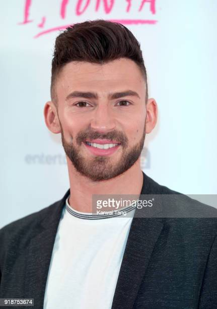 Jake Quickenden attends the 'I Tonya' UK premiere held at The Washington Mayfair on February 15 2018 in London England