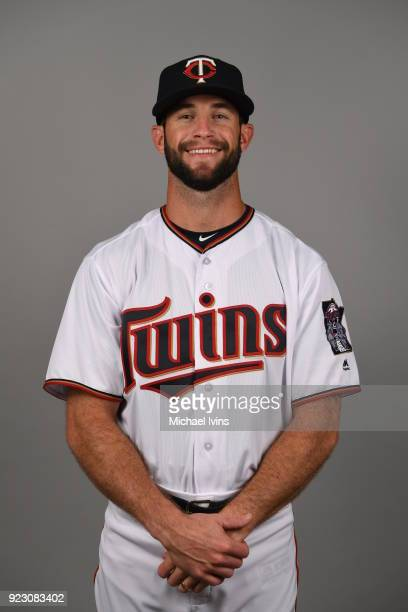 Jake Reed of the Minnesota Twins poses during Photo Day on Wednesday February 21 2018 at CenturyLink Sports Complex in Fort Myers Florida